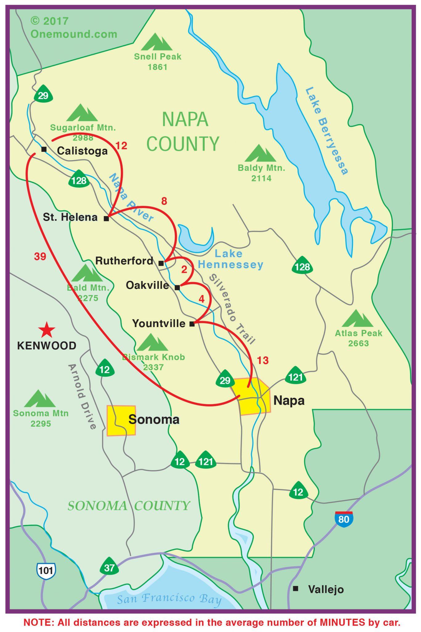 Area Maps One Mound Kenwood