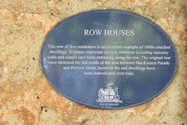 #177 Adelaide Row Houses